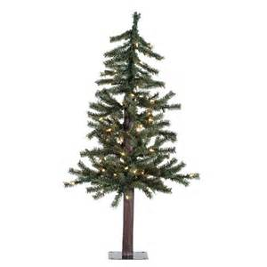 vickerman natural alpine christmas tree traditional