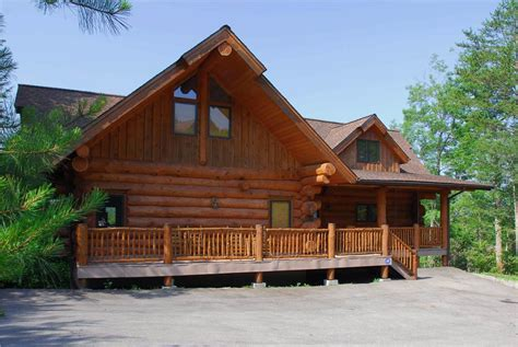 Great Cabin Rentals Great Smoky Lodge 5 Bedroom Cabin Rental In Gatlinburg Tn