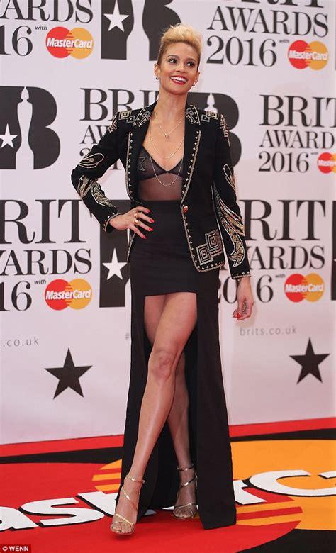 Alesha Dress Set alesha dixon displays endless legs in sheer minidress at