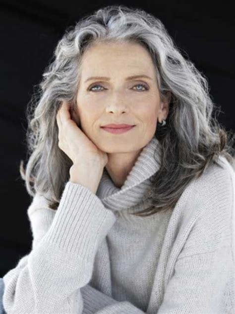 hairstyles for long gray hair over 60 25 best ideas about hairstyles over 50 on pinterest