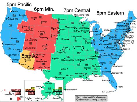 map of us time zones during daylight savings daylight savings time map www pixshark images