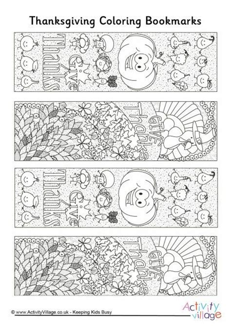printable turkey bookmarks thanksgiving doodle colouring bookmarks coloring