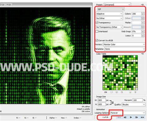 matrix pattern for photoshop matrix effect animation gif photoshop tutorial photoshop