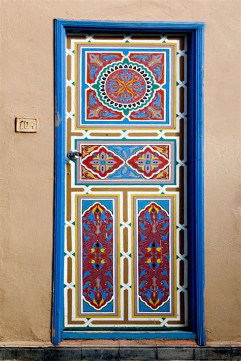 The Painted Door cool ways to paint doors slideshow