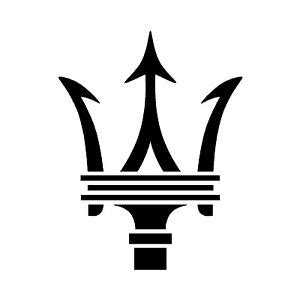maserati blue logo maserati trident logo emblem car interior exterior laptop