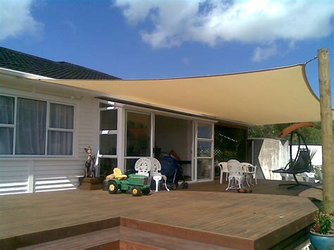 Deck Shade Home On Shade Sails Enclosed Porches
