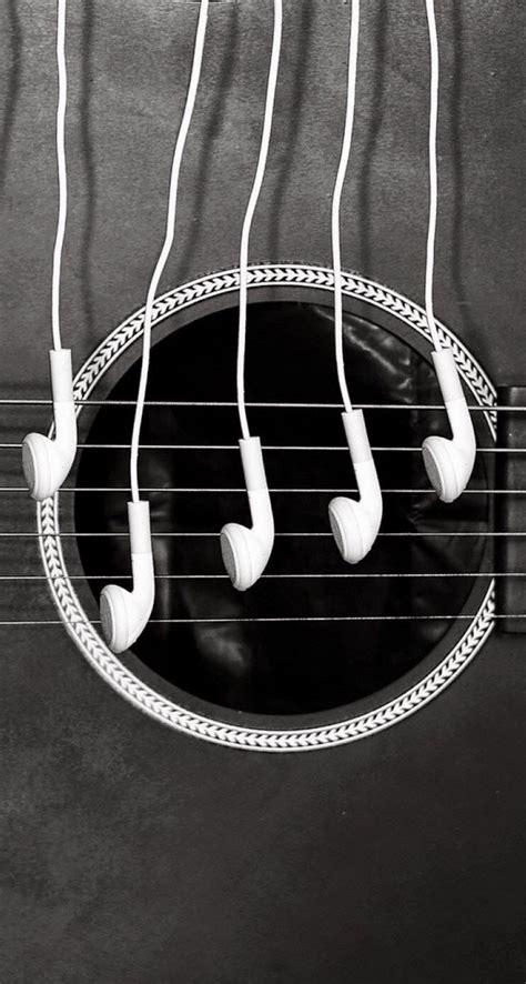 headphones   guitar hd ios hd wallpaper  iphone