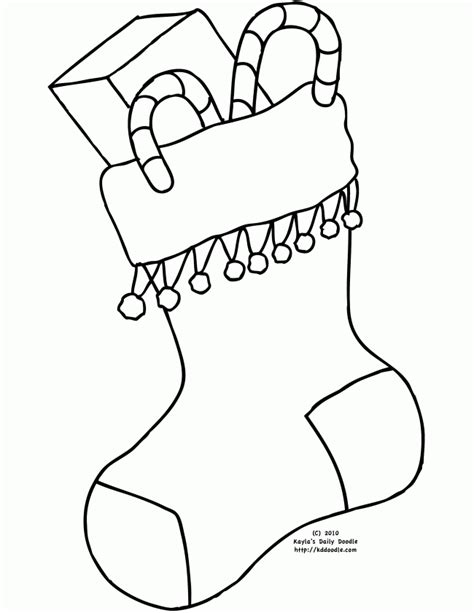 christmas coloring pages stocking blank christmas stocking coloring page coloring pages