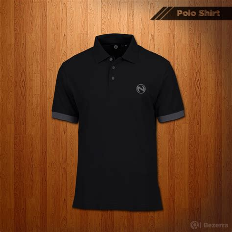 Kaos Sony Vio Logo Keren free psd mockup polo shirt on behance