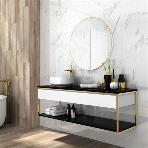 Carrara Marble Bathroom Designs by 2018 Tile Trends Tiling Ideas For Your Home Walls And