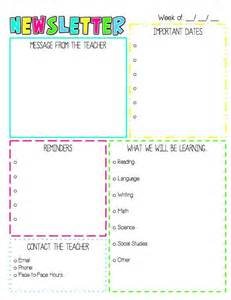 weekly letter to parents template 25 best ideas about preschool newsletter on pinterest this is the newsletter i send home to parents via e mail