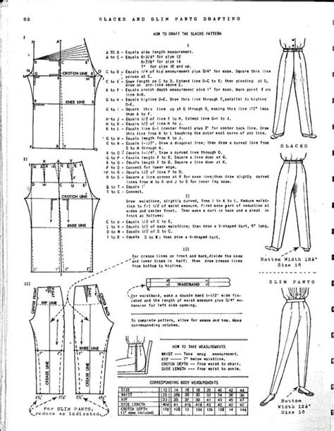 pattern drafting for trousers ladies pants pants and pants pattern on pinterest