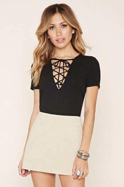 Lace Up Back Shirt 22 awesome lace up shirt for summer styleoholic