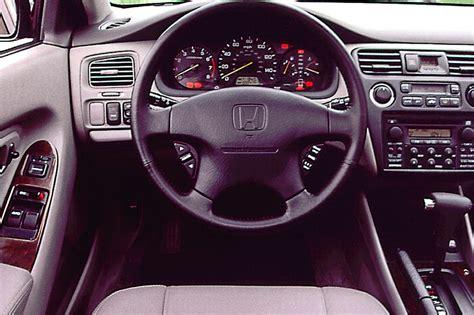 98 Honda Accord Interior 1998 02 honda accord consumer guide auto