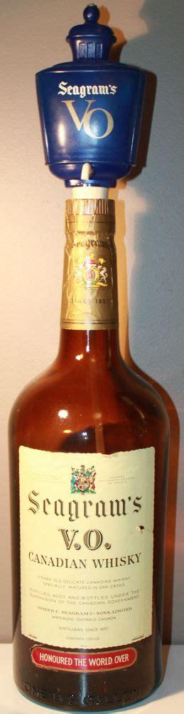 1 Gallon Empty Bottle - canadian seagram s v o whisky 1962 1 gallon empty bottle