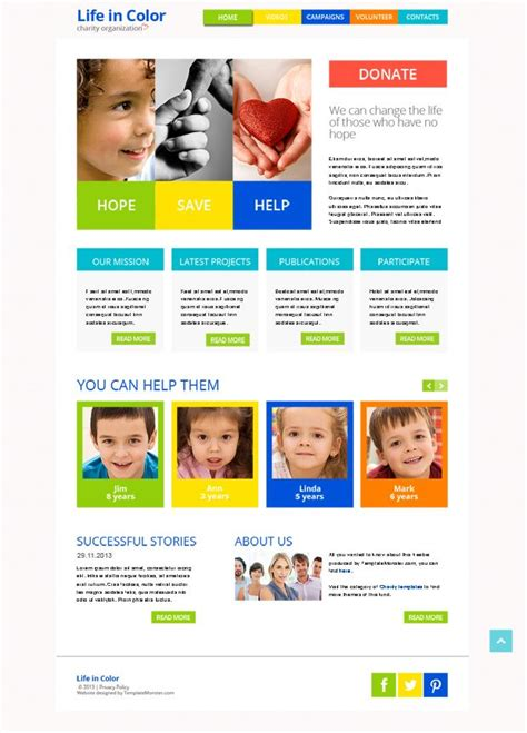 www templatemonster free templates 17 best images about free website templates on