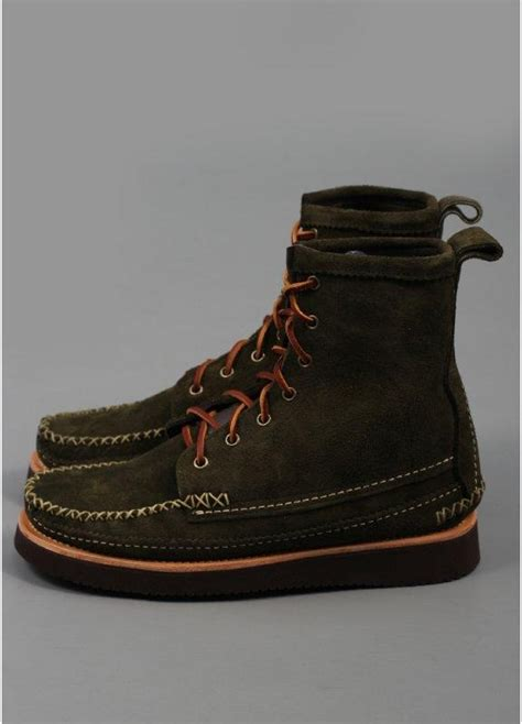 maine boots yuketen maine guide boots olive