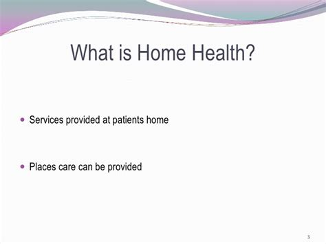 home health powerpoint