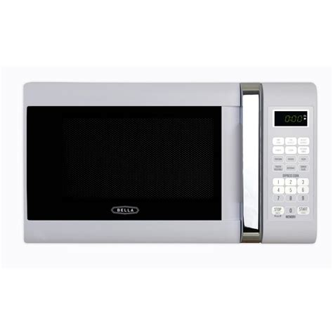 Best Small Countertop Microwave by 0 7 Cu Ft 700 Watt Compact Countertop Microwave Oven In White With Chrome 04288 The