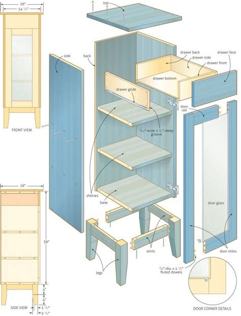 bathroom vanity plans woodworking 25 best ideas about wooden bathroom cabinets on pinterest