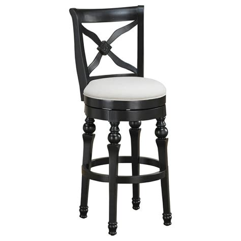 24 Inch Black Swivel Bar Stools by Hadleigh 24 Inch Antique Black Swivel Counter Stool