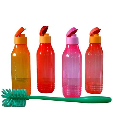 Tupperware Groovy Bottle tupperware aquasafe triangular groovy bottles 750ml set of
