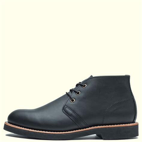 Wing 9216 Black redwing shoes foreman chukka レッドウィング フォアマンチャッカ 9216
