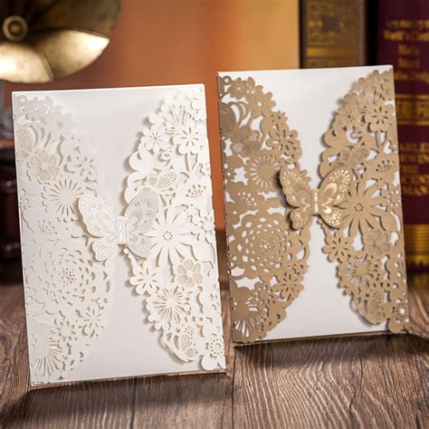 Gold Wedding Invitation Cards by White And Gold Wedding Invitation Card Invitation Card