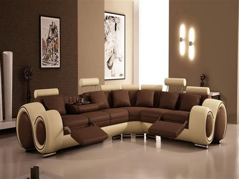 brown livingroom modern paint colors for living room interior design ideas