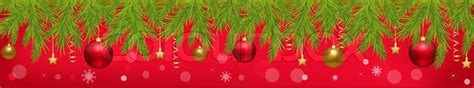 How To Decorate Christmas Tree At Home merry christmas banner with new year s spheres stars
