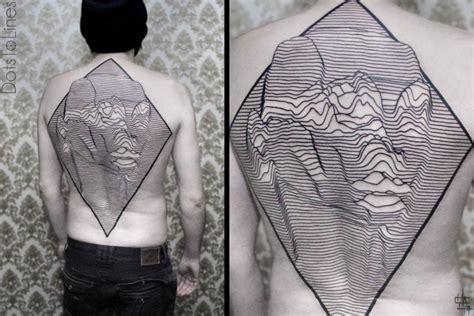 Linear Pattern Tattoo   beautiful linear and geometric tattoos by chaim machlev
