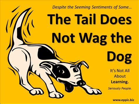 the wagging the may day may day the does not wag the eppic pursuing performance