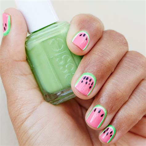 Nail Garden Hermosa by Diy Watermelon Nails