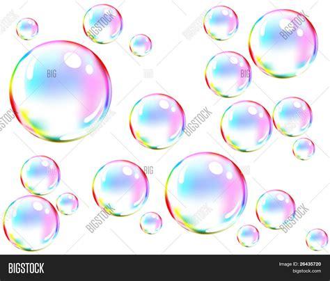 colored bubbles vector colored soap bubbles vector photo bigstock