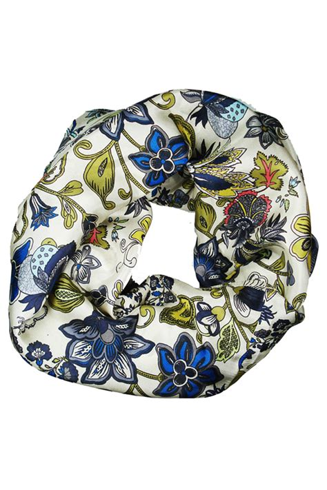 Scarves Import White meilleur ami white big flower scarf from pigalle by sept cinq shoptiques