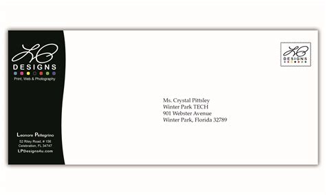 corporate envelope template envelope design exles search salvadore dali