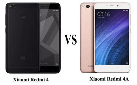 Xiomi Redmi4 xiaomi redmi 4 vs redmi 4a comparison review