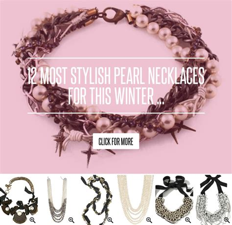 13 Most Stylish Pearl Necklaces For This Winter by 12 Most Stylish Pearl Necklaces For This Winter Fashion