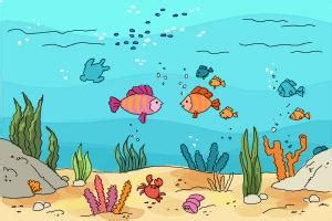 boat underwater drawing how to draw an underwater scenehow to draw an underwater