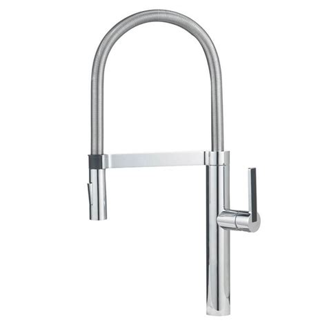 grohe 23305000 parkfield single handle faucet in chrome grohe parkfield single handle pull down sprayer kitchen