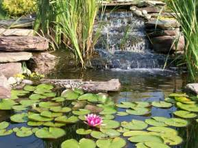 pond waterfalls how to outdoor furniture design and ideas