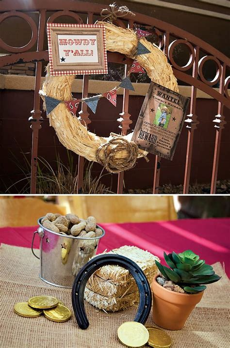 {Outlaw Hoedown} Western Themed Birthday Party   Coins