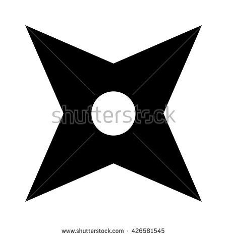 printable ninja star template list of synonyms and antonyms of the word ninja star pattern