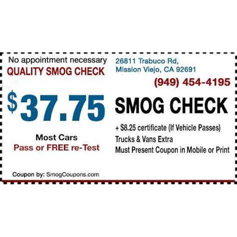 haircut coupons mission viejo quality smog check coupons near me in mission viejo 8coupons
