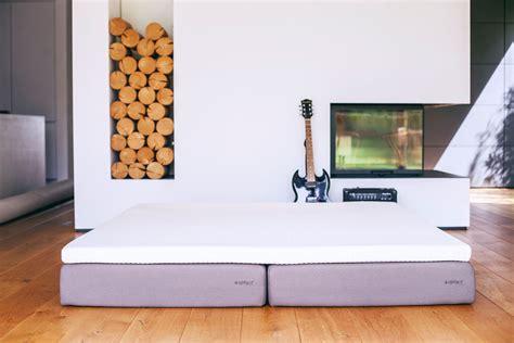airfect matratze eine matratze vier liegegef 252 hle airfect - Bett Auf Boden