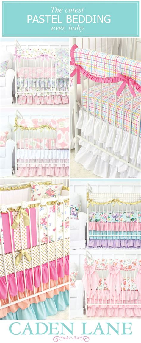 Pastel Crib Bedding Sets The 41 Best Images About Pastel Nursery Design On Pinterest Pastel Crib Sets And Ruffles