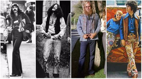 hippie mens fashion trends hippie fashion 1970s style www pixshark com images