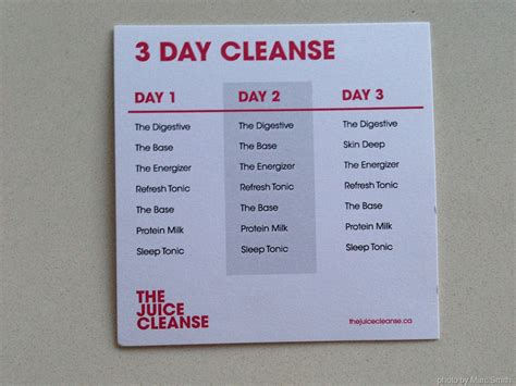 3 Day Detox Liquid Cleanse by Juice Cleanse Recipes Dishmaps