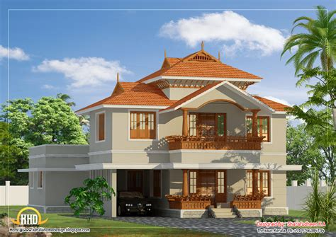Beautiful House Plans by Beautiful Kerala Style Duplex Home Design 2633 Sq Ft