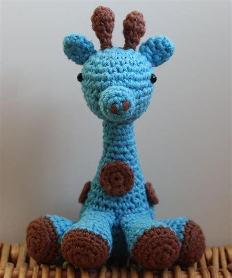 Blue Gypsea Crochet 1 blue giraffe crochet amigurumi by matandhelen on deviantart
